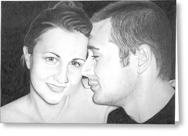 Kelly And Chris Lanktree Greeting Card