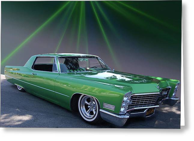 Greeting Card featuring the photograph Kelly Caddy by Bill Dutting