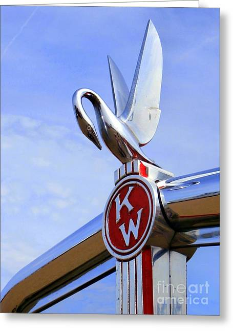 Kenworth Insignia And Swan Greeting Card
