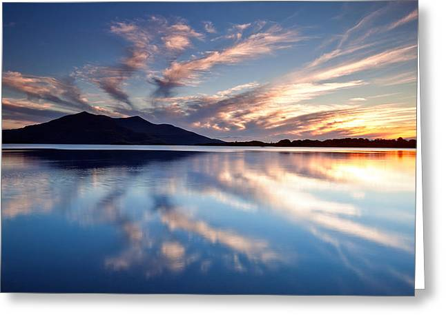 Kerry Reflections Greeting Card by Brendan O Neill