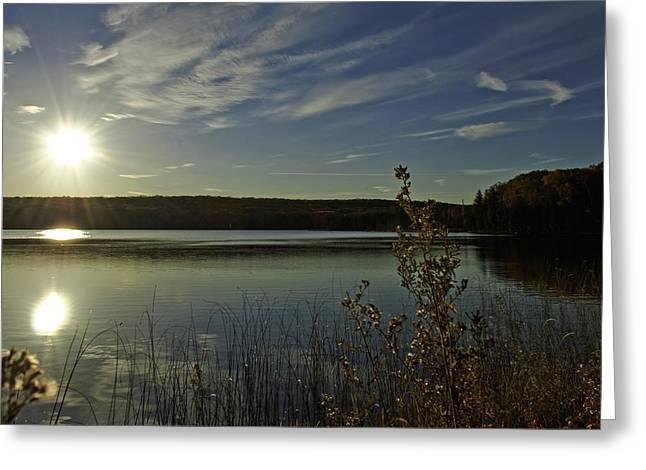 Kettles Lake Series 23 Greeting Card by Pat Vleer