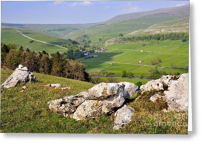Kettlewell Yorkshire Greeting Card