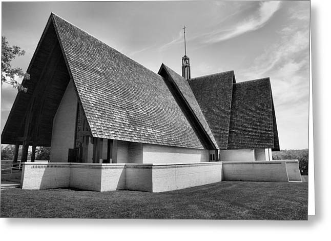 Keuka College Chapel Greeting Card by Steven Ainsworth