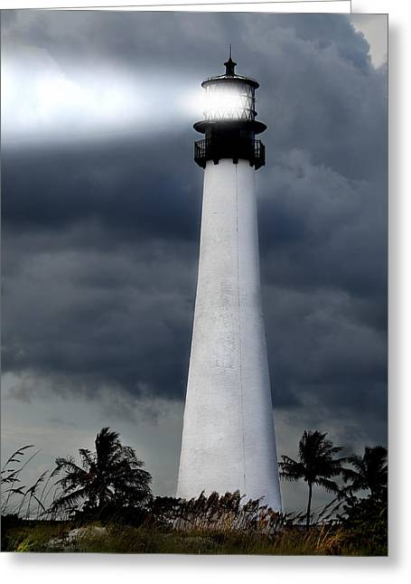 Key Biscayne Lighthouse Greeting Card