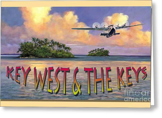Key West Air Force Greeting Card