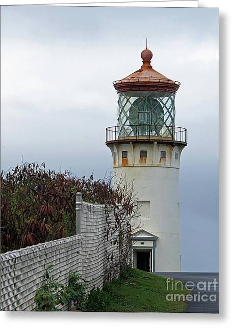 Kilauea Lighthouse  Kauai Greeting Card