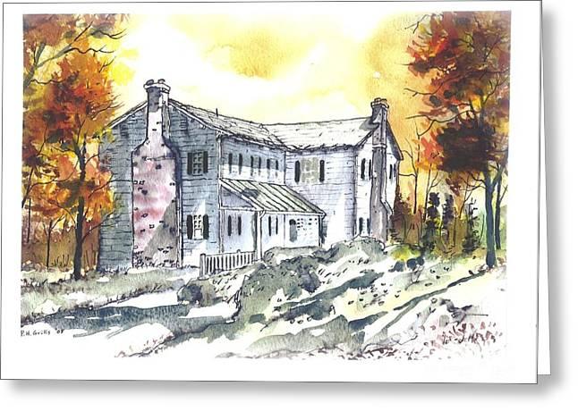 Kilgore Lewis Home Greeting Card