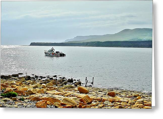 Greeting Card featuring the photograph Kimmeridge 1 by Katy Mei