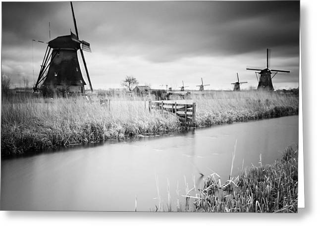 Kinderdijk 01 Greeting Card by Nina Papiorek
