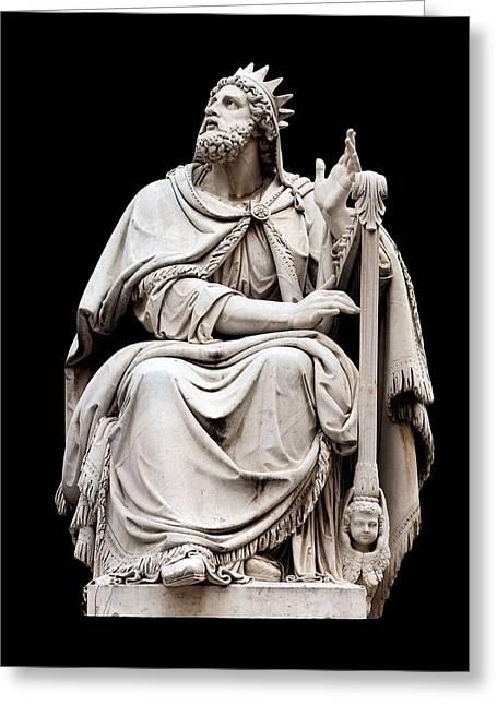 King David Greeting Card by Fabrizio Troiani
