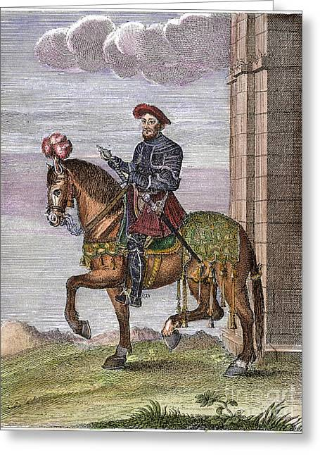 King Francis I (1494-1547) Greeting Card by Granger