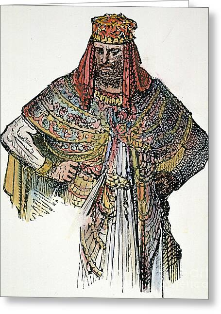 King Nebuchadnezzar II Greeting Card by Granger