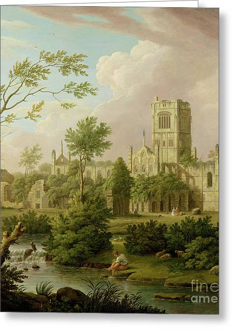 Kirkstall Abbey - Yorkshire Greeting Card