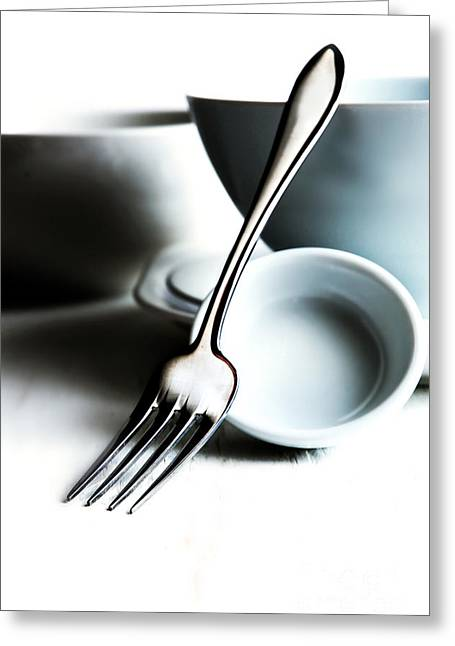Kitchen Still Life Greeting Card by HD Connelly