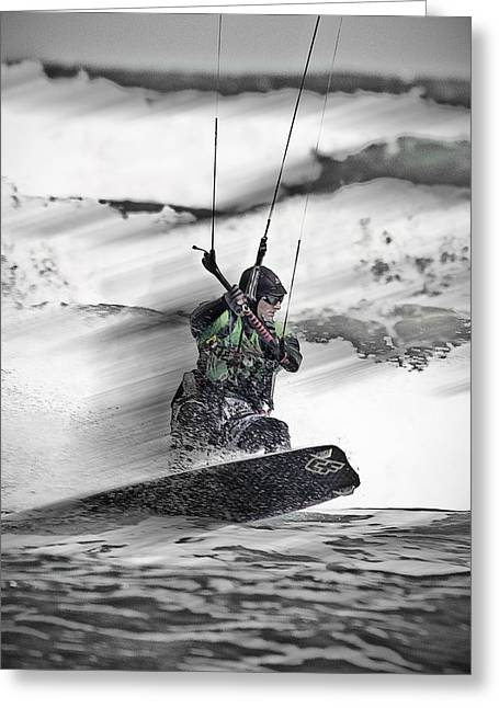 Kite Surfs Up Greeting Card