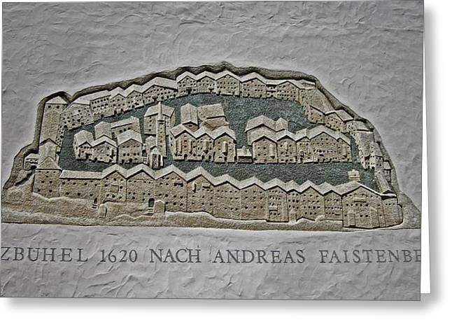 Kitzbuehel Anno 1620 Greeting Card by Juergen Weiss