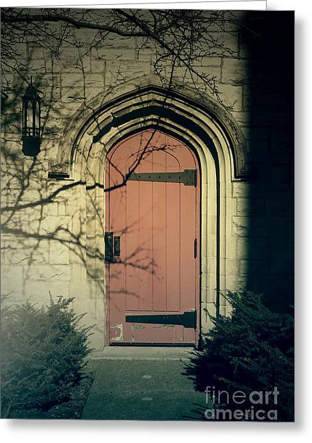 Knockin On My Door Greeting Card by Joel Witmeyer