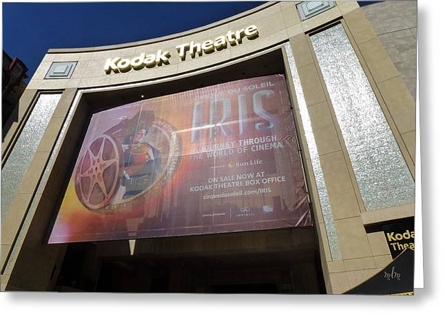 Kodak Theatre Greeting Card
