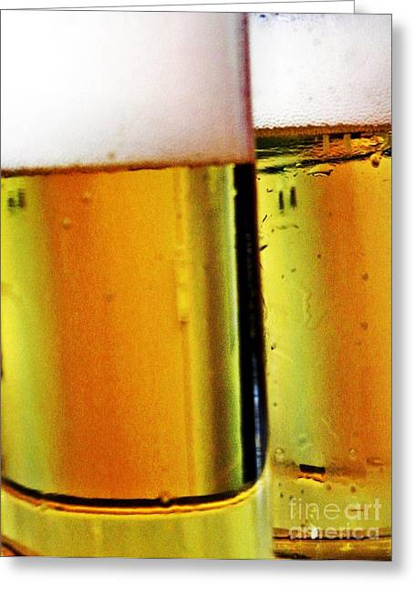 Koelsch - Fine Beer Of Cologne Greeting Card by Tanja Cathrin  Liebig