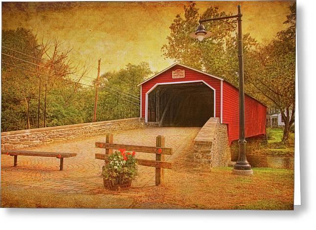 Kreidersville Bridge 2 Greeting Card