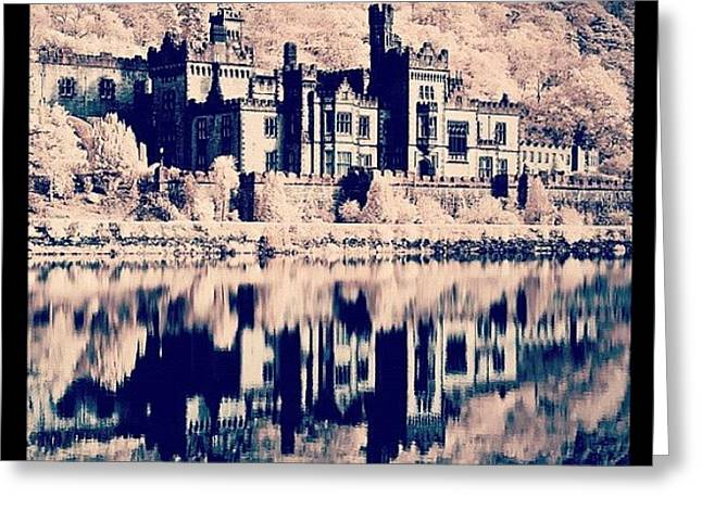 Kylemore Abbey, Ireland. Taken With Greeting Card