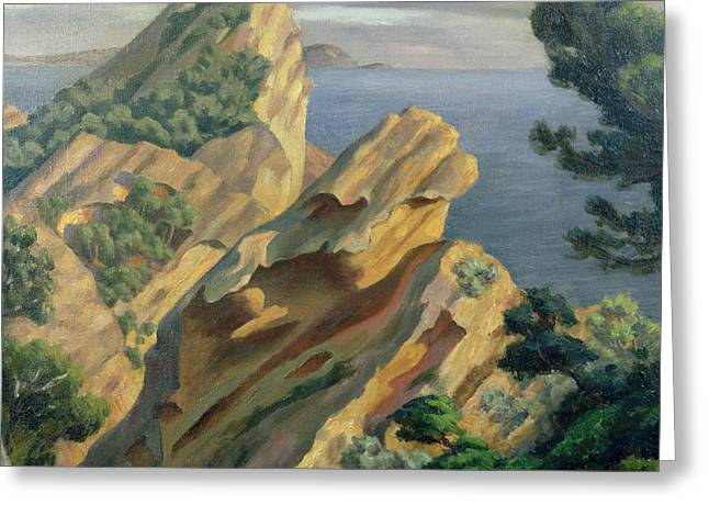 La Ciotat Near Marseilles Greeting Card by Roger Eliot Fry