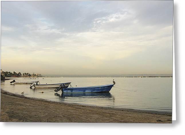 La Paz Waterfront Greeting Card