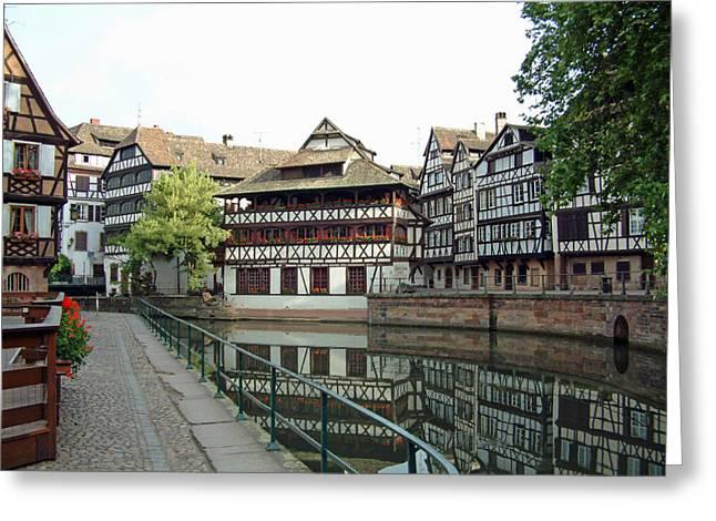 La Petite France Strasbourg France Greeting Card