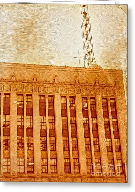 La Radio Tower Greeting Card