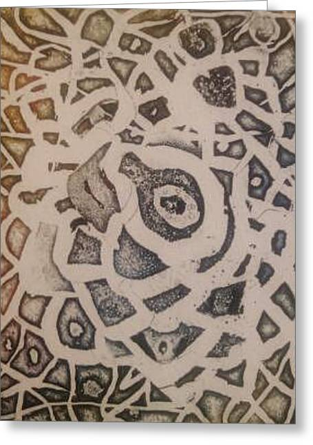 Labyrinth Greeting Card by Branko Jovanovic