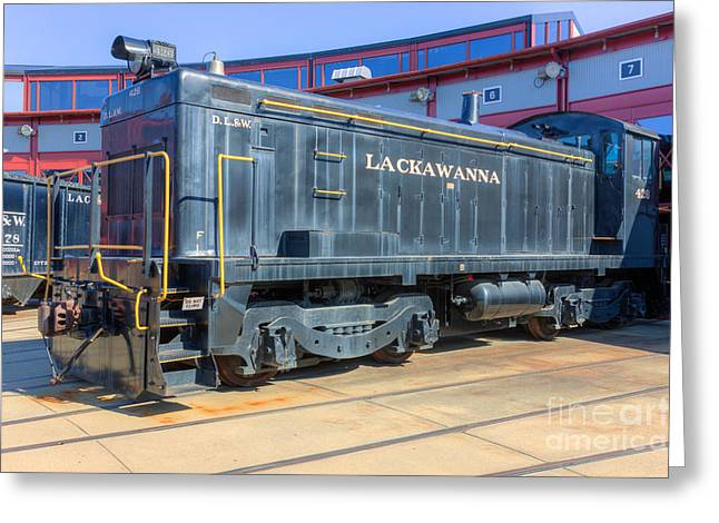 Lackawanna Locomotive 426 Greeting Card by Clarence Holmes
