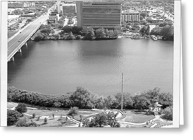 Lady Bird Lake Austin Greeting Card by James Granberry