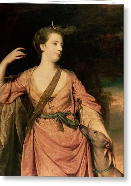 Lady Dawson Greeting Card