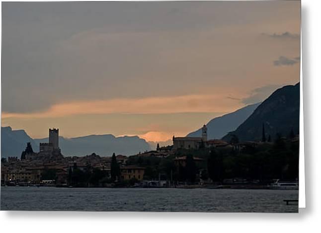 Lago Del Garda Greeting Card