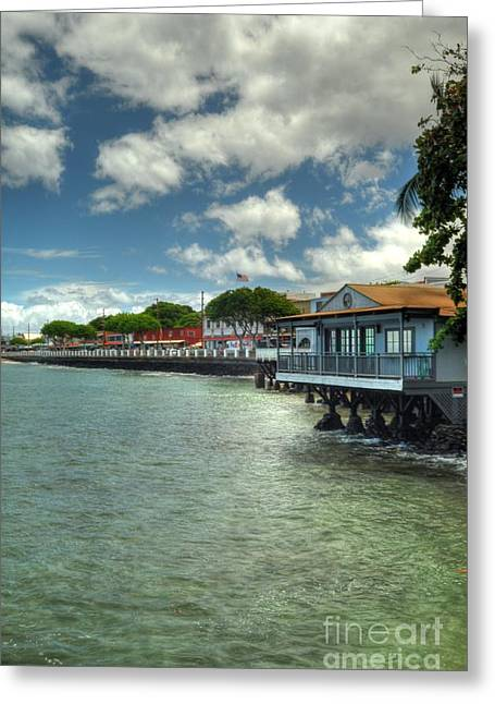 Lahaina Postcard 3 Greeting Card
