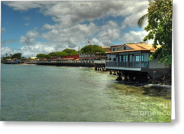 Lahaina Postcard 4 Greeting Card
