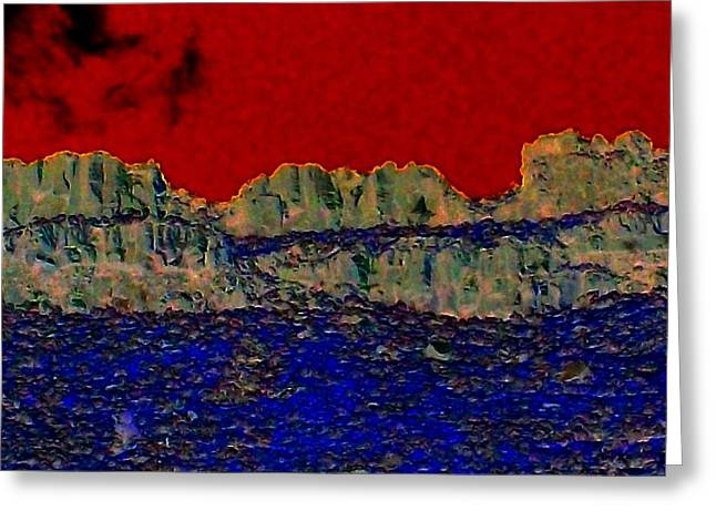 Lake Billy Chinook 3 Greeting Card by Randall Weidner
