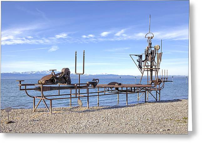 Lake Constance Art Greeting Card by Joana Kruse