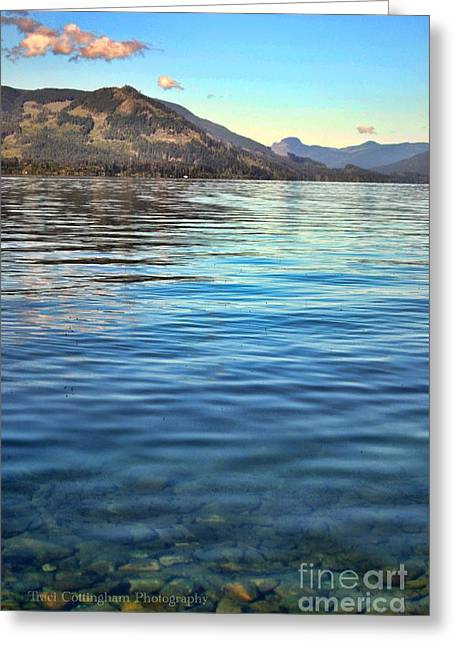 Lake Cowichan Bc Greeting Card