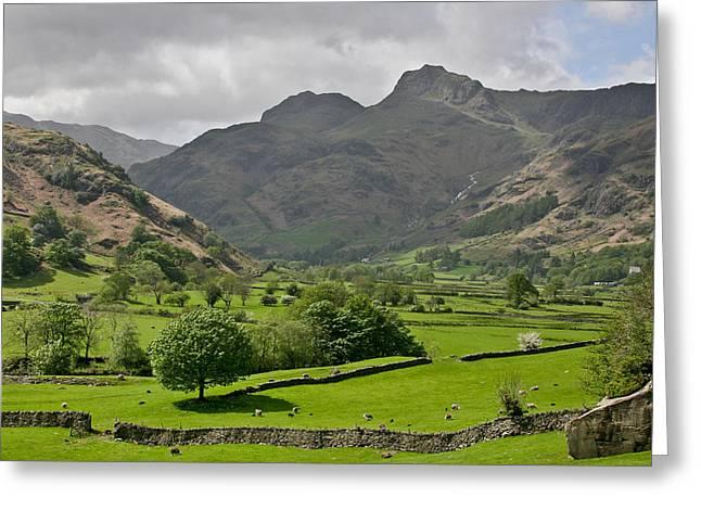 Lake District England Greeting Card