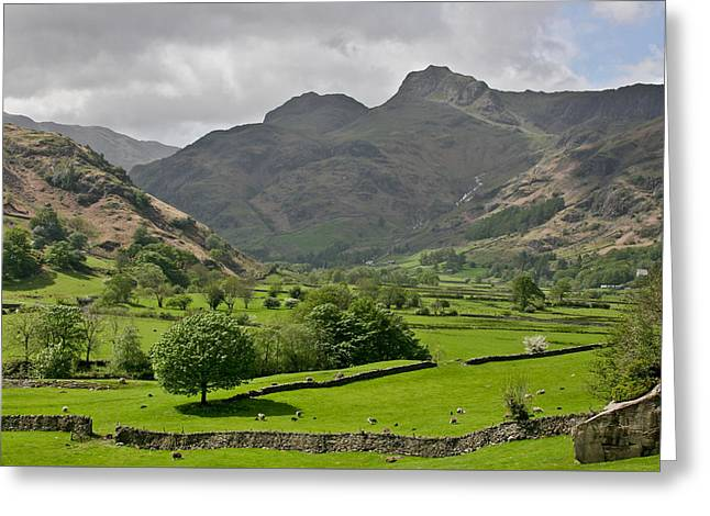 Lake District England Greeting Card