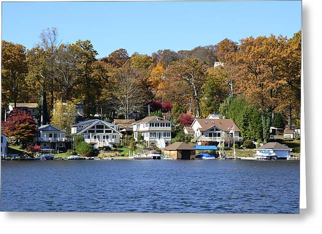 Lake Hopatcong Scene 3 Greeting Card