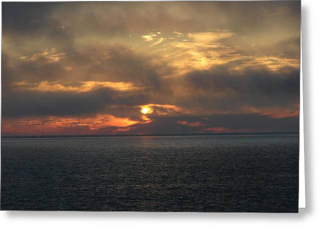 Lake Huron Sunset 3 Greeting Card by Bruce Ritchie