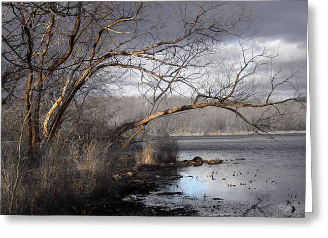 Lake In Upper Nyack Park Ny Greeting Card