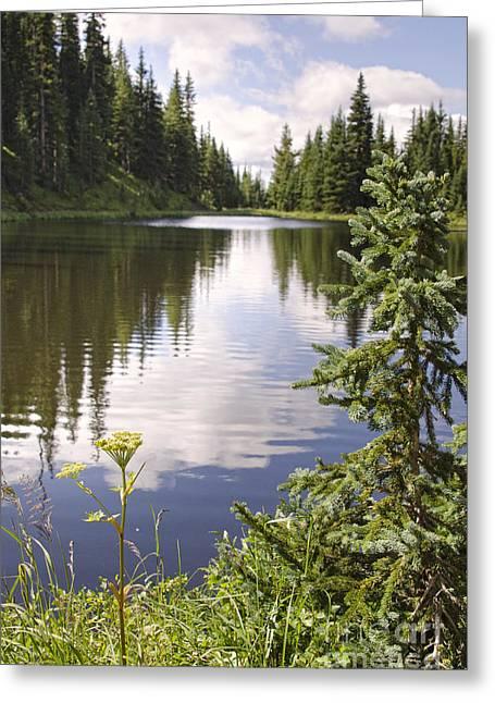 Lake Irene Rocky Mountain National Park Colorado Greeting Card