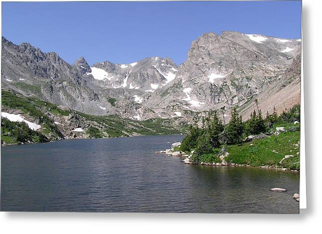 Lake Isabelle And The Continental Divide Greeting Card