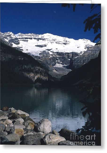 Lake Louise II Greeting Card by Sharon Elliott