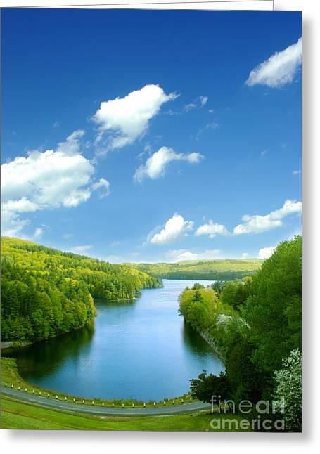 Lake Macdonough Greeting Card