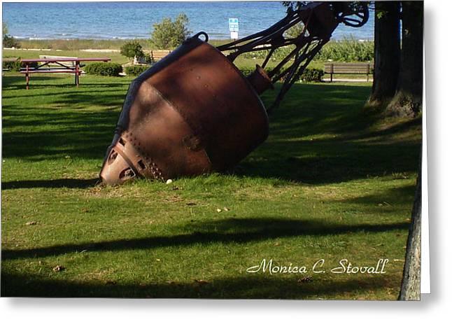 Lake Mi Park - Mackinaw City M Collectionsi   Greeting Card
