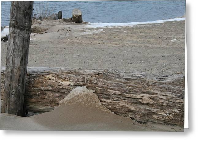 Lake Michigan December 2007 Greeting Card